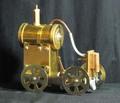 蒸気機関車模型完成品SL750【送料無料】