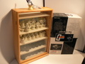 ガンダム チェスピースコレクションDX+展示ケース 中古 オマケ付き