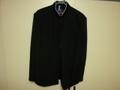 カンコー B-1 ラウンドカラー黒学生服(学ラン)175A ライナー付き 中古 青森高校 大ボタンなし 業者クリーニング済み