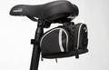 高品質 多機能 しっかり入る サドルバッグ テールバッグ バイクバッグ 修理工具小物入れ MTB マウンテンバイククロスバイク ロードバイク 後部座席パッケージキット 在庫品