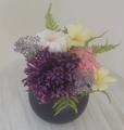 仏花 紫の菊