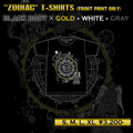 "ANCIENT MYTH T-shirts ""Zodiac"""