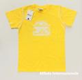 フィアット500 ジュニア・キッズTシャツ(イエロー)