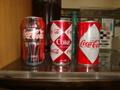 Coca Cola(コカコーラ):缶3種デザインコレクション