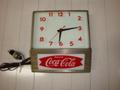 Coca Cola(電気時計):壁掛けタイプ1950年代品