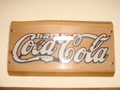 Coca Cola:1920年代金属サイン(オリジナル品)