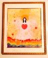 ☆ジークレー版画『*太陽の愛と光のアマテラス*』額入り