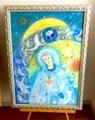 *マリアの祈りと宇宙の祝福* (原画)