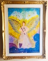 大天使ウリエル *Angelic Inspiration* Archangel Uriel (原画)
