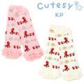 ゆうメール便OK☆ ニットプランナー KP ケーピー CutesyKP(キュッツィー)メロウステッチのかわいいレッグウォーマー 118502k0