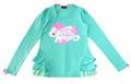 ★SALE★ ※ゆうメール便OK☆ アースマジック EARTHMAGIC フリル切り替えロングTシャツ(160cm)