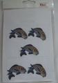 鯉のワッペン サイズ小 5個入
