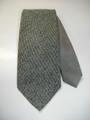 ステッチアップ ハイホリゾンタリー (グレー×グレーツイード柄) 織ネクタイ