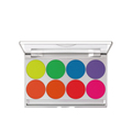 KRYOLAN UV DAYGLOW COMPACT 8-COLORパレット