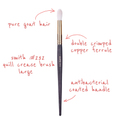 SmithCosmetics 232 QUILL CREASE BRUSH LARGE