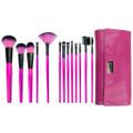 ROYAL Pink Essentials メイクブラシ13本 ラップキット