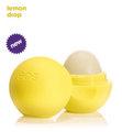 EOS オーガニック リップバーム - レモンドロップ spf15(イエロー) - smooth sphere