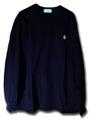 JIRO_刺繍長袖Tシャツ/BLK(ブラック)