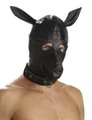 レザー ドッグマスク
