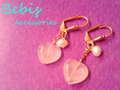 ★Pink power・ピアス★Bebis accessories