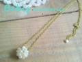 ★Moon pearl★ネックレス Bebis accessories
