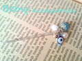 ★Blue eyes★ヘアピン Bebis accessories