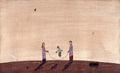 【この超限定】テーマは、やっぱり、・・・・Ikutomo Kuroki・Woodblock・とり・縄跳び・親子!!黒木 郁朝(くろき いくとも)の木版画 作品 題名:鳥(とり)  専用オリジナル額付き(簡易化粧箱入り)  【 ビーグラッド通販 】