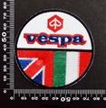 ベスパ VESPA ワッペン パッチ  06628