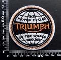 トライアンフ triumph ワッペン パッチ 09526