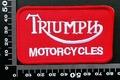 トライアンフ(Triumph ) ワッペン パッチ  09825
