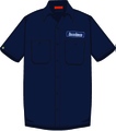 SKUNKHEADS×RAH WORK SHIRT - Navy-