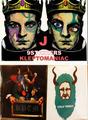 KLEPTOMANIAC / 9 STICKERS TYPE J