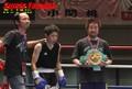 11月14日 【最前列席】女子W世界戦+【WBCチャンピオン】ワッペン