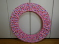 フープカバー(径65cm)     ポップスイーツ・ピンク