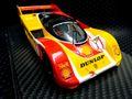 "BRM 1/24 スロットカー  BRM-050 ◆Porsche 962C  TEAM PORSCHE AG #1/Hans.J.STUCK ""WINNER  SUPERCUP NURBURGRING 1988 貫録の1/24ビックスケール!★ハンス・スタックのニュル優勝車!再入荷しました!"
