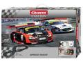 カレラ 1/32 コースセット   25187 ◆スピードレース   ベンツ SLS AMG GT3 & アウディ R8 LMS  最新型GTカー2台付     2012年・最新商品!★人気のFIA-GTレース!
