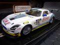 Scaleauto 1/32 スロットカー  SC6021◆MercedesBENZ SLS GT3  #15 Mamerow Racing Nürburgring 2011 ベンツSLS新登場!★お勧め商品!