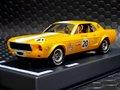 "Pioneer 1/32スロットカー PO65★1968 Mustang Notchback  #20 Bob ""Krazy"" Kramer --metallic yellow-- 再入荷★今すぐどうぞ!"