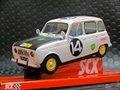 SCX 1/32 スロットカー A10192 ◆ RENAULT 4L EAST AFRICAN SAFARI 1962   #14/ B Consten & C Le Guezec  ライト点灯モデル★入荷済み!