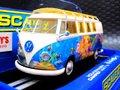 """Scalextric 1/32 スロットカー  C3761◆Volkswagen Camper Van """"Hippie""""  ハイディテールモデル  入荷しました!★'70'sのサイケデリック・ペイント! LOVE & PEACEですね!"""