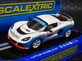 Scalextric 1/32 スロットカー c3520 Lotus Exige R-GT #16  ハイディテールモデル 前後ライト点灯★楽しい一台です!