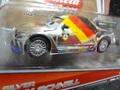 """Carrera-Go スロットカー 1/43  61290 NEW◆""""SILVER""""  Max Schnell  ディズニーピクサー/CARS2  カレラGoは1/32のコースでそのまま走れます。 出た!きらきらのマックスシュネル★新商品!"""