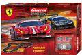 """Carrera Evolution 132 コースセット 25230◆Ferrari Trophy  """"フェラーリ トロフィー"""" set      フェラーリ 488 GT3 2台入りフルセット 全長6.3m 人気のフェラr-リ488、2台入りset!◆お買い得アナログset !"""