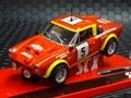 "SCX 1/32 スロットカー A10220X300◆ Fiat 124 Abarth Spider ""Bacchelli-Scabini""  ライト点灯  最新商品◆入荷しました!"