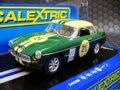 Scalextric 1/32 スロットカー  c3631◆MGB  #21/Green   2015年発売の今や希少なMGB! ★前後ライト点灯・ハイディティールモデル!!
