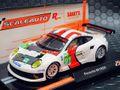 "Scaleauto 1/32 スロットカー  SC-6066-R◆Porsche 991 RSR    #91  Manthey Racing Team  Le Mans 2013  ""最強R-シリーズ"" ロング缶・アングルワインダー ★ルマン仕様の 911 (991) GT3 RSR !!"