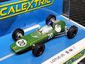 Scalextric 1/32 スロットカー c4195◆Lotus 25  #20/Jim Clark.  British GP 1962. 2021年最新モデル・ジムクラーク ロータス25◆新製品が到着!