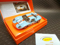"Slot It 1/32 スロットカー  CW16◆Ford GT40  ""GULF""  #9 Pedro Rodriguez & Belgian Lucien Bianchi.  1968 Le Mans Winner  Limited-Box ガルフカラーの限定箱入!★買い逃さないでね!"