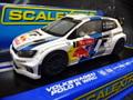 "Scalextric 1/32 スロットカー  C3524◆Volkswagen Scalextric VW Polo WRC "" Red-Bull""  #7/Latovala & Anttila  Rally Montecarlo 2013 ハイディテールモデル  早くも再入荷しました!★人気商品!!"