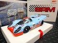 "BRM 1/24 スロットカー  BRM-038 ◆Porsche 917K  "" Gulf "" #20/ Jo Siffert/Brian Redman 24H LeMans 1970  BRMの最新モデルが入荷しました!★1/24ビックスケール!カッコ良すぎ~!!"